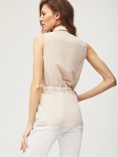 Блуза с кулиской