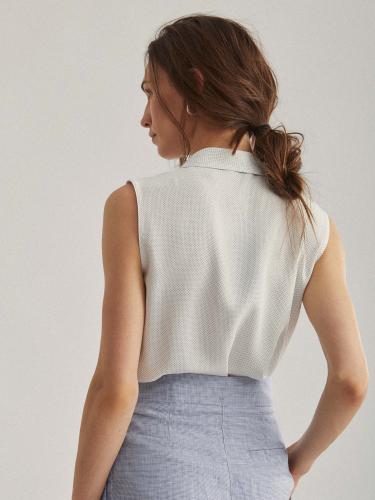 Блуза-боди на запах
