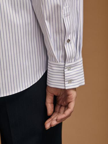 Блуза свободного силуэта с карманом