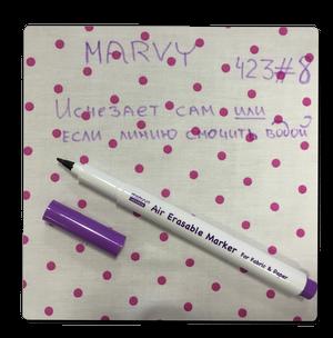 Маркер для разметки ткани 1 мм фиолет.,исчезающий MAR423/8