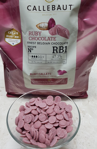 Шоколад RUBY, Callebaut