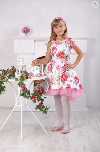 Платье А431 розы