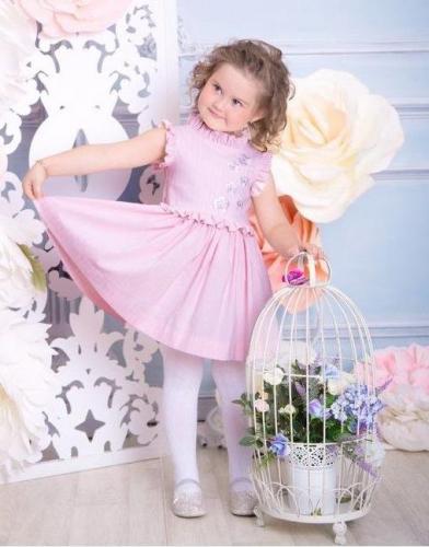 Платье Амелия, розовый