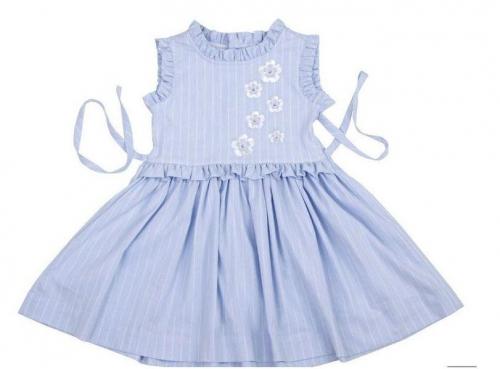 Платье Амелия, голубой