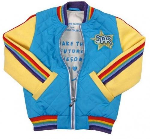 Куртка для девочек Рэйчел, бирюза
