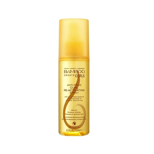 Alterna Bamboo Smooth Curls Anti-Frizz Re-Activating Spray Полирующий спрей для оживления кудрей 125 мл