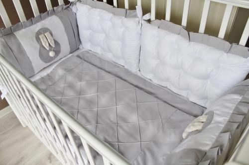 Комплект Бортиков в кроватку «Sweet Baby» (Сладкий малыш) арт. В-1024
