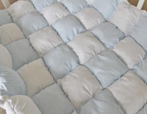 Одеяло Bombon голубое арт 9005