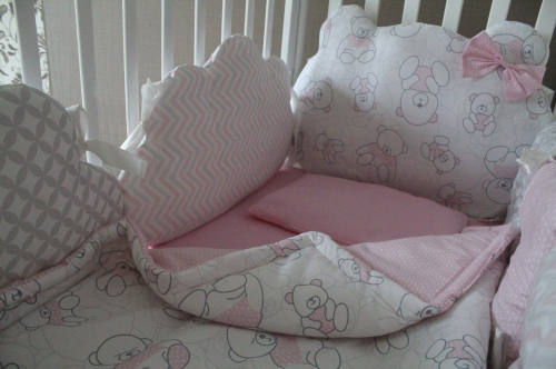 Комплект в кроватку Ms. Teddy  арт 1016
