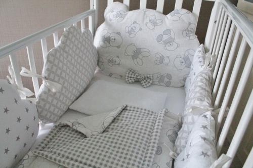 Комплект в кроватку Mr. Teddy  арт 1017