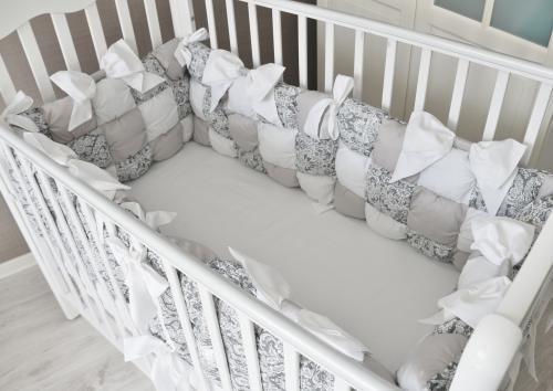 Бортики в кроватку «Бомбон» арт. В-1039