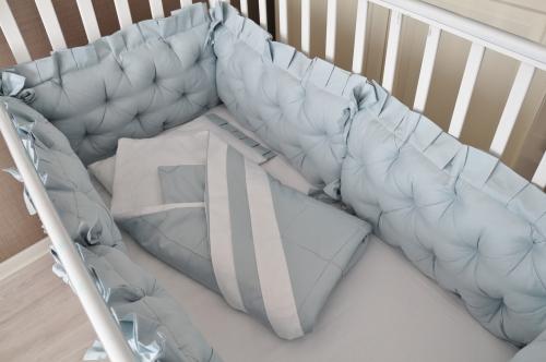 Комплект  бортиков в кроватку Ричард арт. В-1040