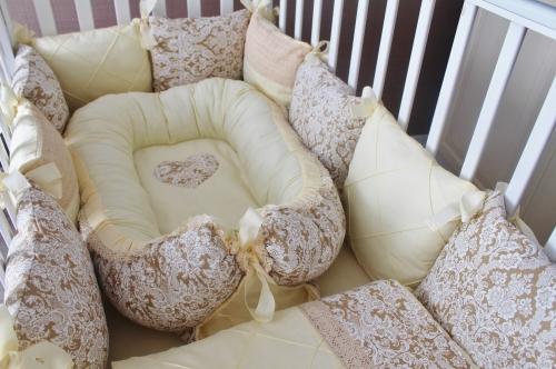 Babynest , гнездышко, кокон для младенца арт 5018