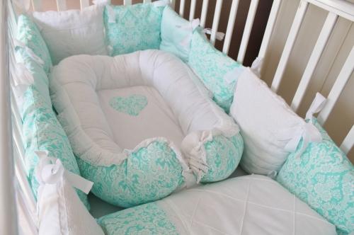Babynest , гнездышко, кокон для младенца арт 5020