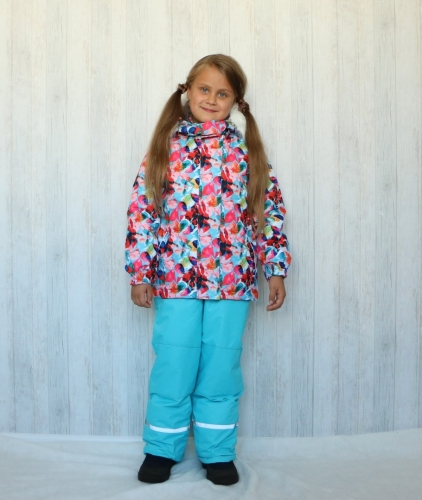 Зимний комплект для девочек