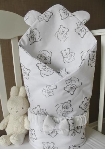 Летнее одеяло - конверт на выписку Тедди 2105