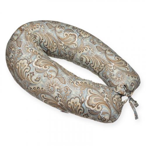 Подушка бумеранг Цветочный орнамент
