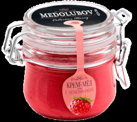 Крем-мёд Медолюбов с земляникой (бугель)