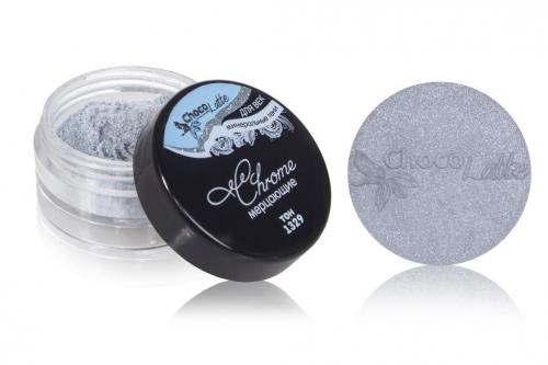 Для макияжа7: Тени минеральные для век тон 1329 Chrome/ мерцающие, TM ChocoLatte, 3 мл/1,2гр