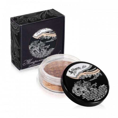 Для макияжа3: Пудра-Основа Тон№5 ЗАГАР, с матирующим эффектом, SPF 10, TM ChocoLatte, 10 мл/5гр