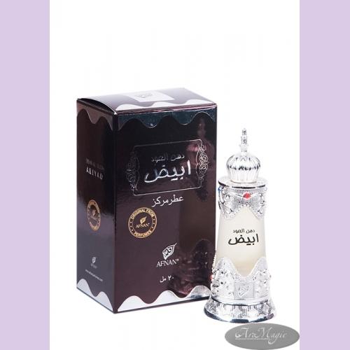 (АF) Духи натуральные масляные DEHN AL OUDH ABIYAD / Дан Аль Уд Абияд / жен / 20мл / ОАЭ/ Afnan Perf