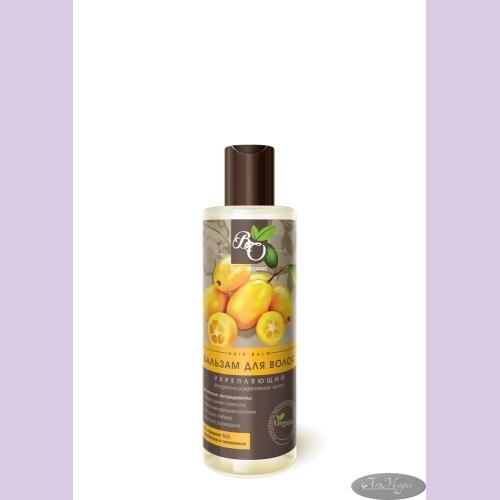 Бальзам для волос УКРЕПЛЯЮЩИЙ для жирных волос, 200мл /ТМ Bliss Organic