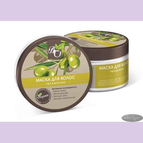 Маска для волос УВЛАЖНЕНИЯ для сухих и ломких волос, 300гр /ТМ Bliss Organic