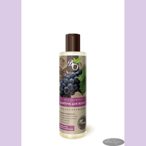 Шампунь БАЛАНСИРУЮЩИЙ для жирных  волос, 250мл /ТМ Bliss Organic