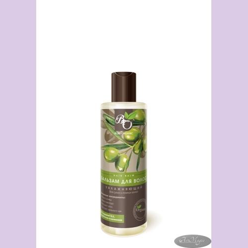 Бальзам для волос УВЛАЖНЯЮЩИЙ для сухих и ломких волос, 200мл /ТМ Bliss Organic