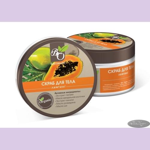 Скраб для тела ЛИФТИНГ anti-age, 300гр /ТМ Bliss Organic