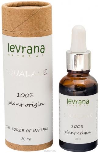 Сыворотка SQUALANE, 100% растительный сквалан /30мл /ТМ Levrana