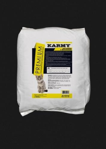 Премиум корм для кошек цыпленок с рисом