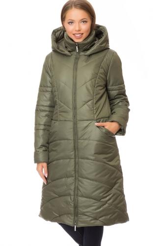 Утепленное пальто #67555