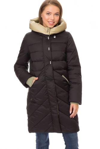 Утепленное пальто #67818