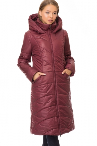 Утепленное пальто #67547