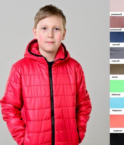 Куртка демисезонная детская из плащевой ткани