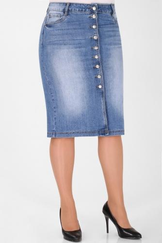 М-12 7003 Юбка джинсовая