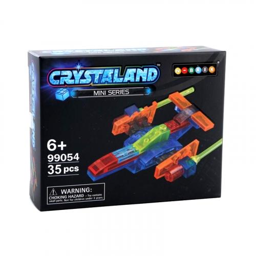 Конструктор Crystaland Звездный корабль, 35 деталей SHGS009