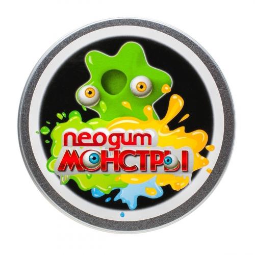 Жвачка для рук Neogum Monster (Неогам Монстр) Зеленый NM0006