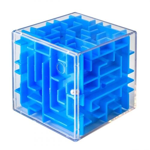 Лабиринтус Куб, 6см, синий LBC0003