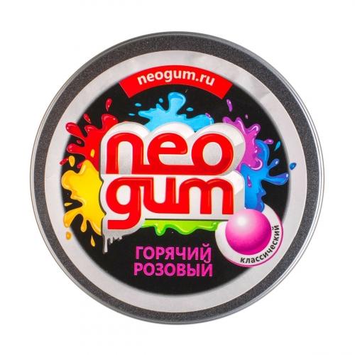 Жвачка для рук Neogum (Неогам) Горячий розовый классический NG7003