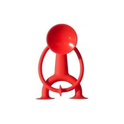 Конструктор - присоска Sibelly, фигурка 7х7, цвет красный SBL004