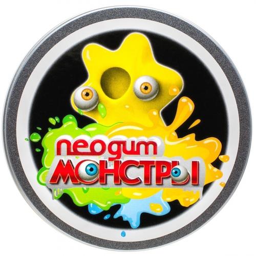 Жвачка для рук Neogum Monster (Неогам Монстр) Желтый NM0003