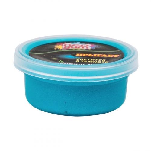 Жвачка для рук Neogum (Неогам), 25 гр, цвет синий, светится в темноте NGSM006
