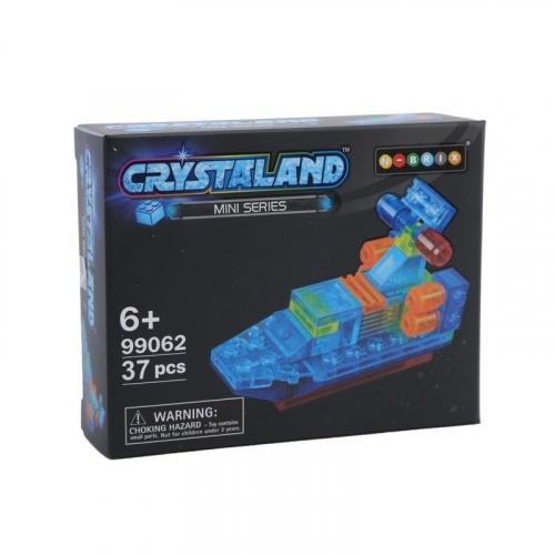 Конструктор Crystaland Патрульный катер, 37 деталей SHGS001