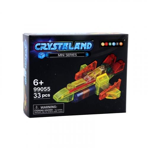 Конструктор Crystaland Грузовой Корабль, 33 детали SHGS008