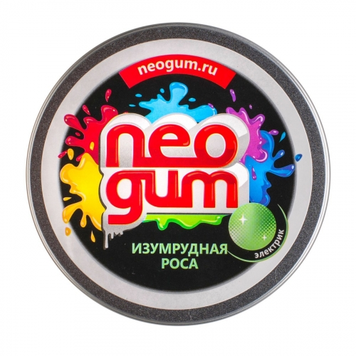 Жвачка для рук Neogum (Неогам) Изумрудная роса электрик NG7022