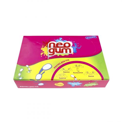 Жвачка для рук Neogum (Неогам) Загадочный лиловый электрик NG7014