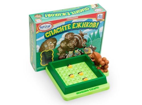 игра-головоломка Спасите ёжиков!