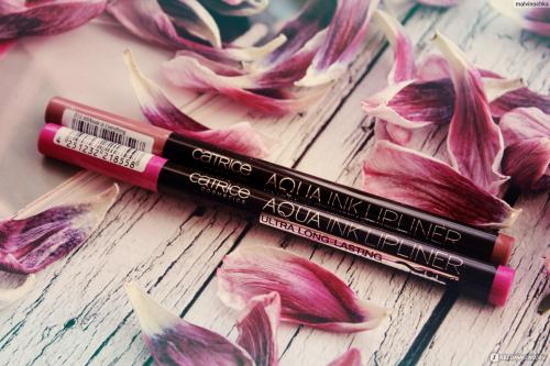 CATRICE/Контур-тинт д/губ Aqua Ink Lipliner 010/221852/коричнево-розовый